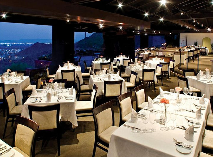 39 Amazing Restaurants With a View - Different Pointe of View in Phoenix, Arizona, USA.