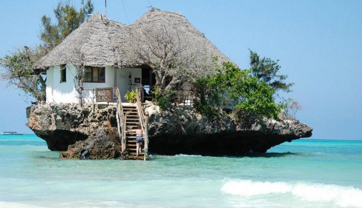 The Rock in Zanzibar, Tanzania