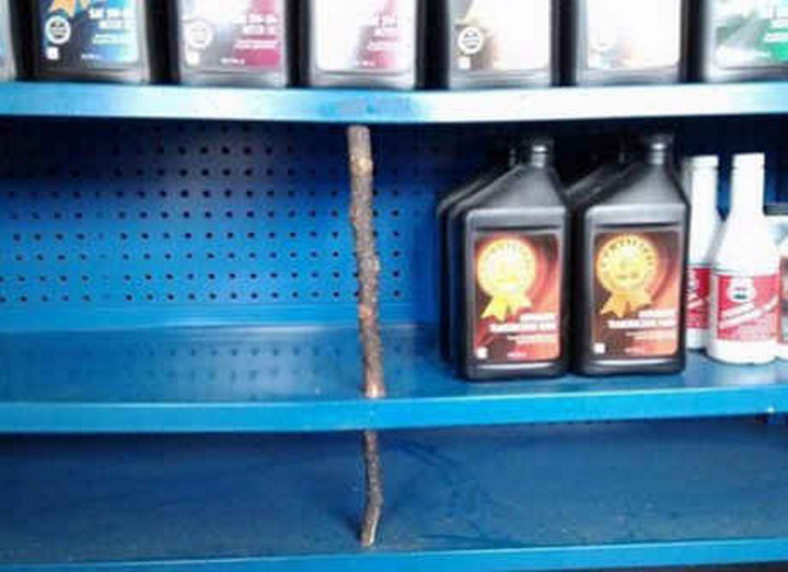 18 Funny Life Hacks - A new shelving system.