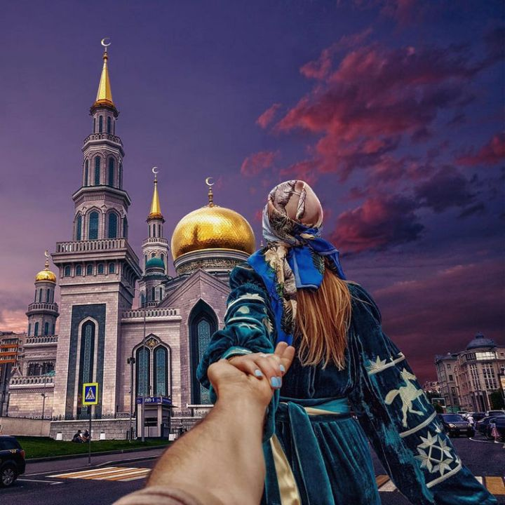 Follow Me To The Moscow Cathedral Mosque, Russia.