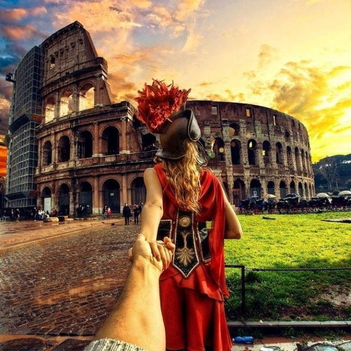 Follow Me To The Colosseum, Rome, Italy.
