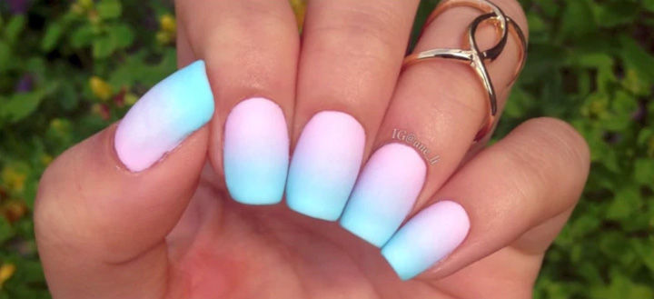 17 Gradient Nails - More beautiful pastels for the summer.