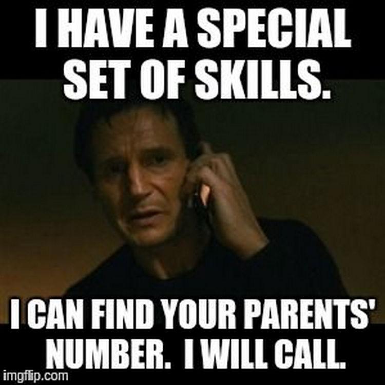 67 Hilarious Teacher Memes - Teacher calling your parents is the worst!