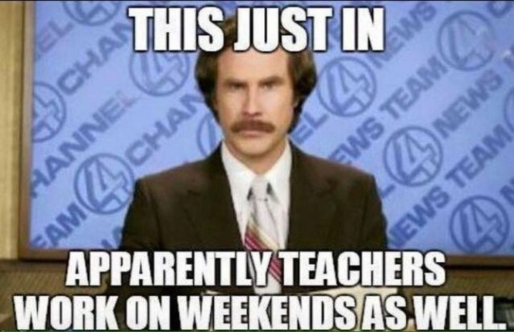67 Hilarious Teacher Memes - I did not know that.