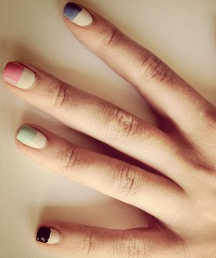 13 Quick and Easy Ways to Save a Chipped Manicure - DIY chip-like nails easily cover chips.