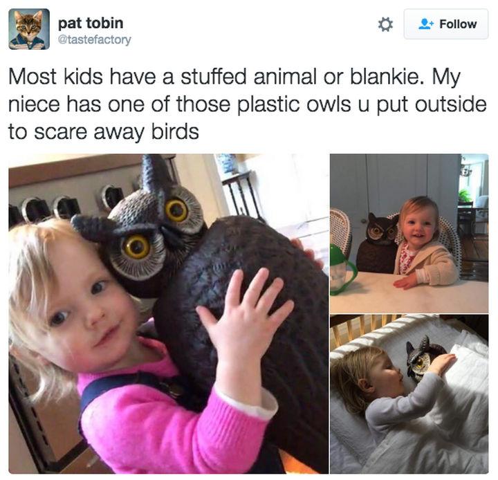 30 Happy Pictures - Owls need love too...even plastic ones.