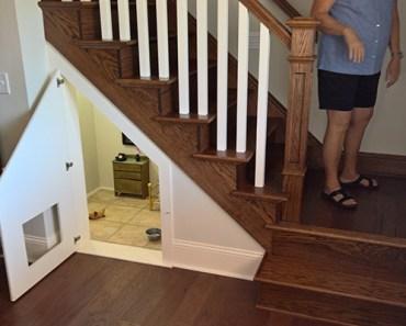Retired Teacher Builds a Tiny Harry Potter Bedroom for Her Dog.