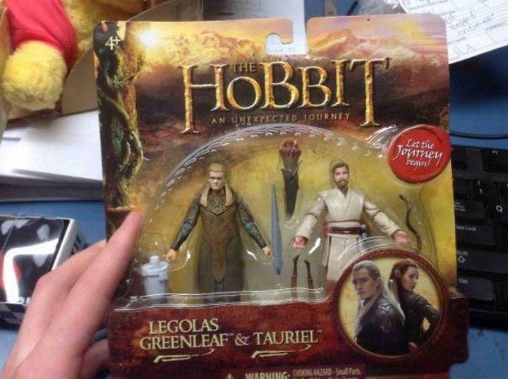13 Factory Rejects - When did Obi-Wan Kenobi of Star Wars appear in The Hobbit alongside Legolas Greenleaf? So much for Tauriel fans!