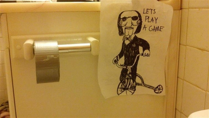19 Funny Karma Images - Even fans of 'Saw' won't want to play this game. Ouch!