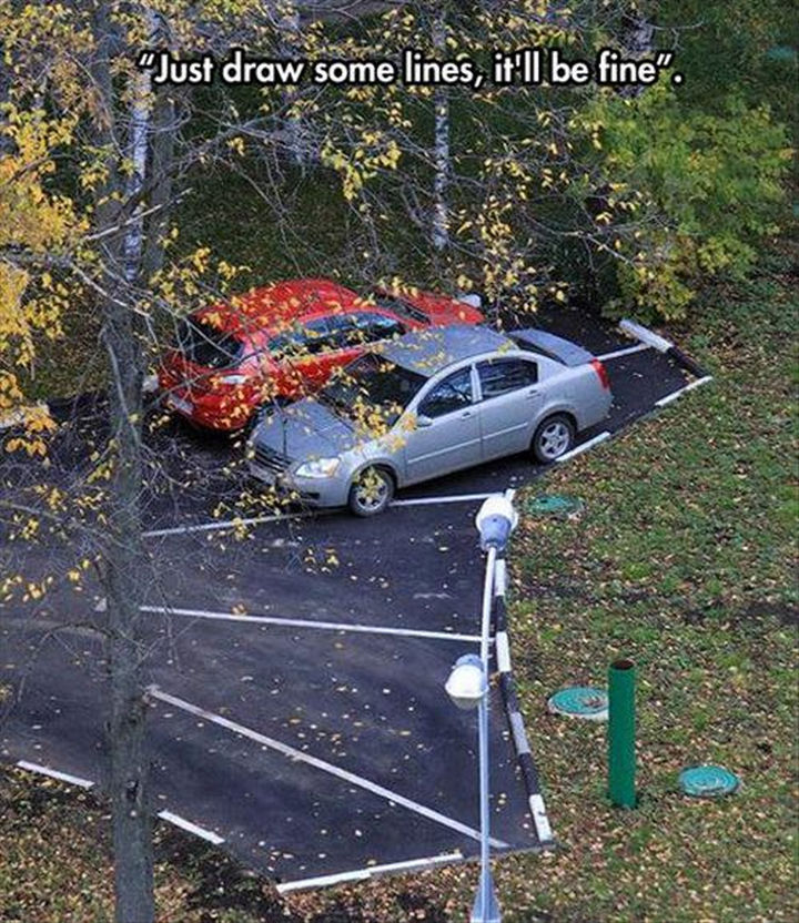 25 People Who Simply Had One Job - Parking for experts.