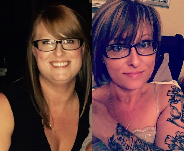 Before and After Weight Loss Photos of People Who Quit Drinking - 234 Days Sober.
