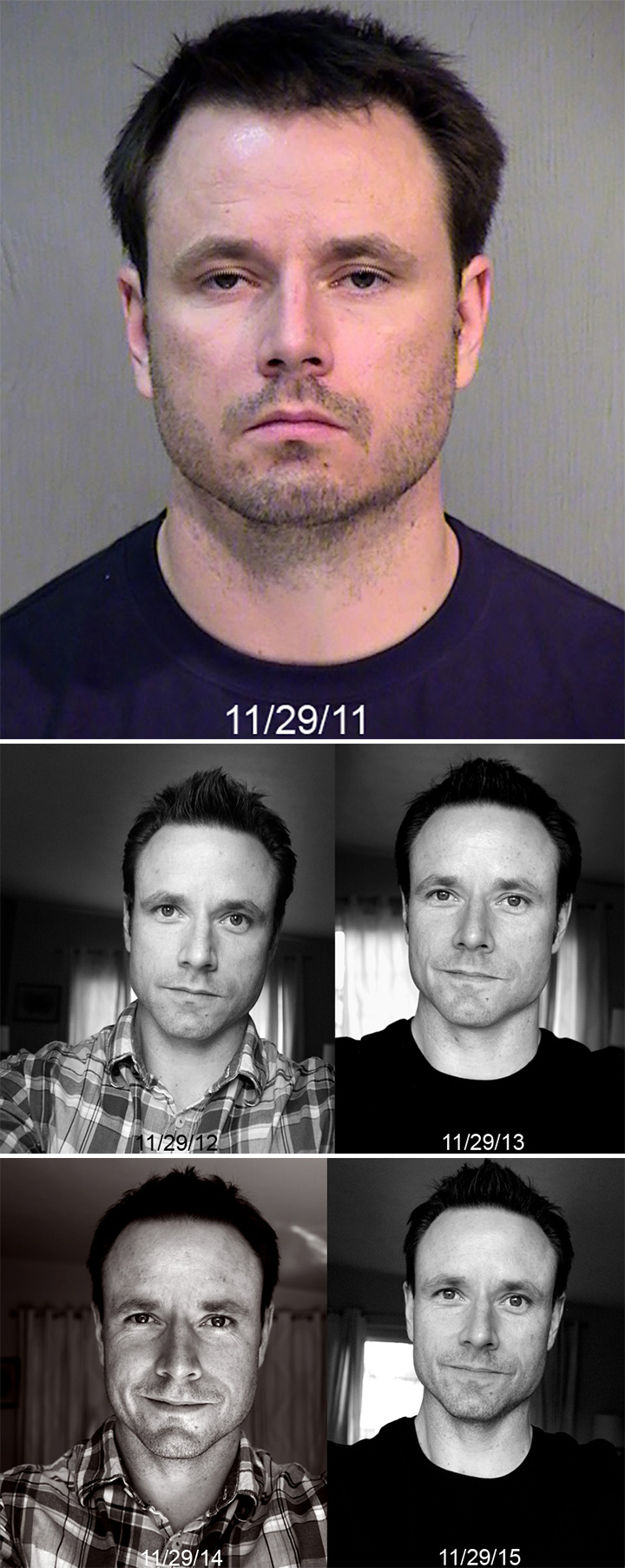 Before and After Weight Loss Photos of People Who Quit Drinking - 4 Years Sober.