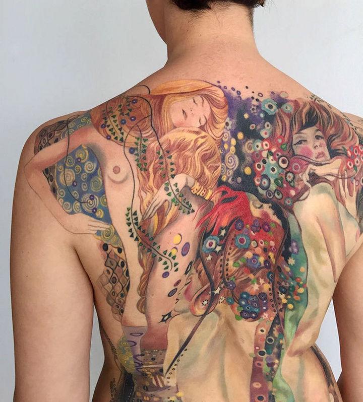 22 Classical Art Tattoos -