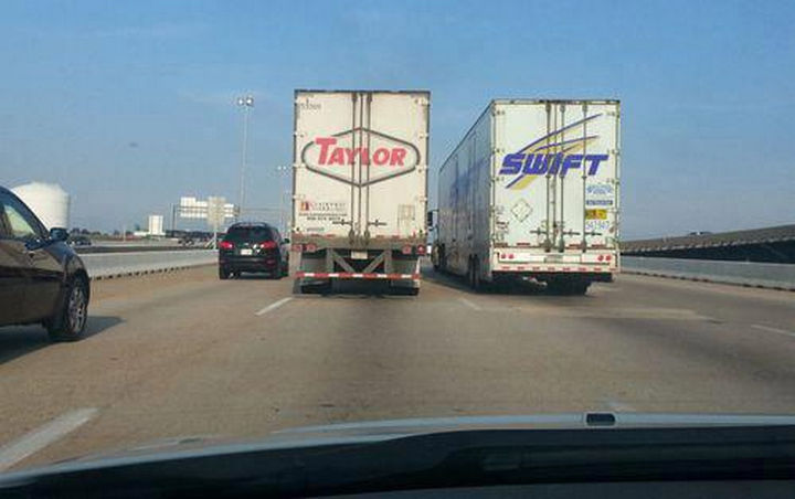 22 Ironic Pictures - She must be on tour again.