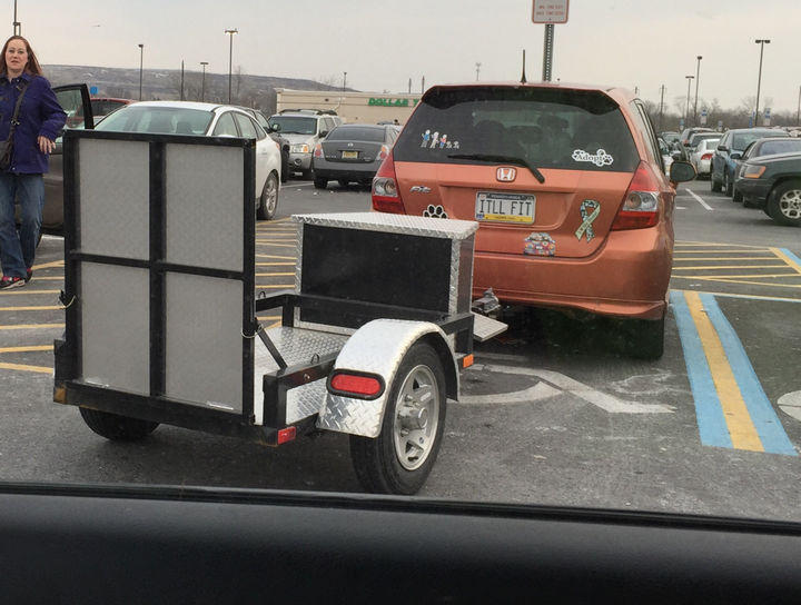 22 Funny Examples of Irony - Are you sure it'll fit?