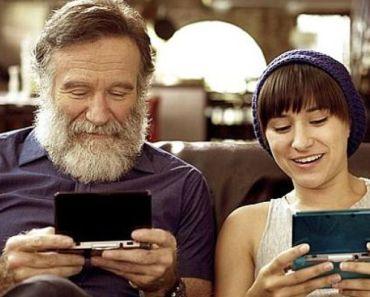 Robin Williams' Daughter Zelda Playing Nintendo's Legend of Zelda for Charity.