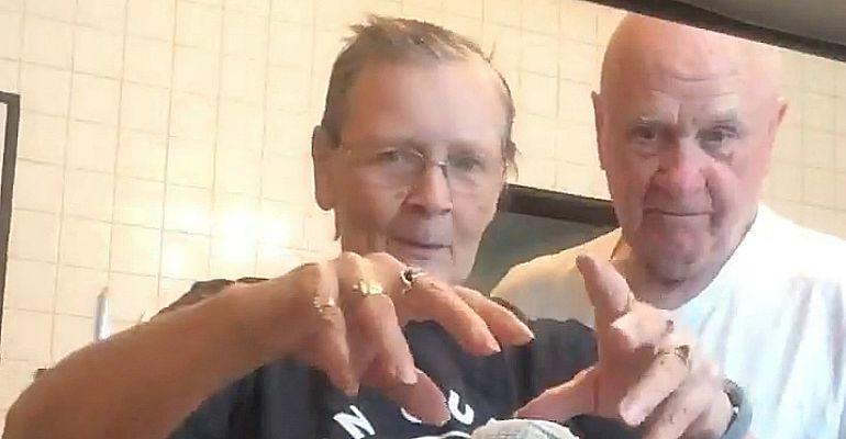 Prank Master Grandma Plays Epic 'Magic Trick' Prank on Grandpa.