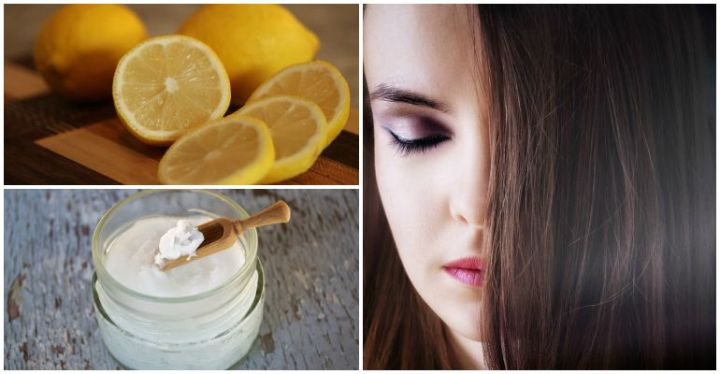 How to Reverse Grey Hair With Coconut Oil and Lemon Juice.
