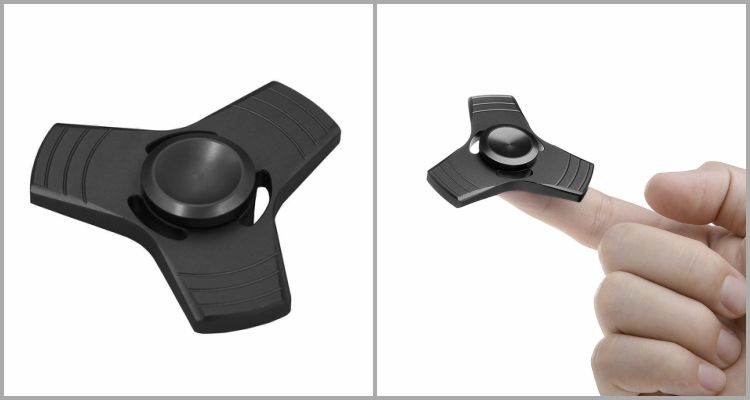 25 Best Fidget Spinners - BESTTY Metal 3D Ultra Durable Triangle Hand Spinner