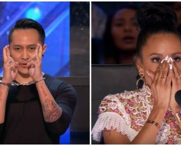 Escape Artist Demian Aditya's America's Got Talent Audition 2017.