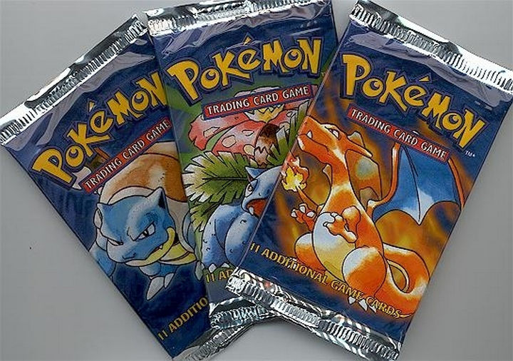 When trading Pokémon meant using trading cards.