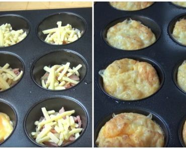 This Omelette Muffins Recipe Makes Baking Eggs in Muffin Tins a Snap!