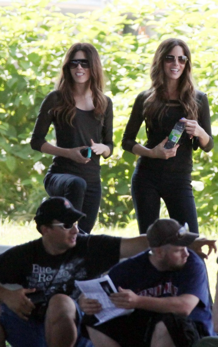 19 Famous Actors and Their Stunt Doubles - Kate Beckinsale.