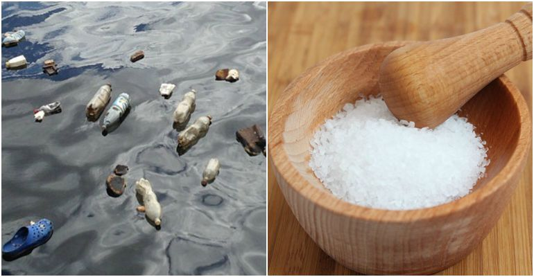 Most Brands of Sea Salt Contain Microplastics According to Research Study.