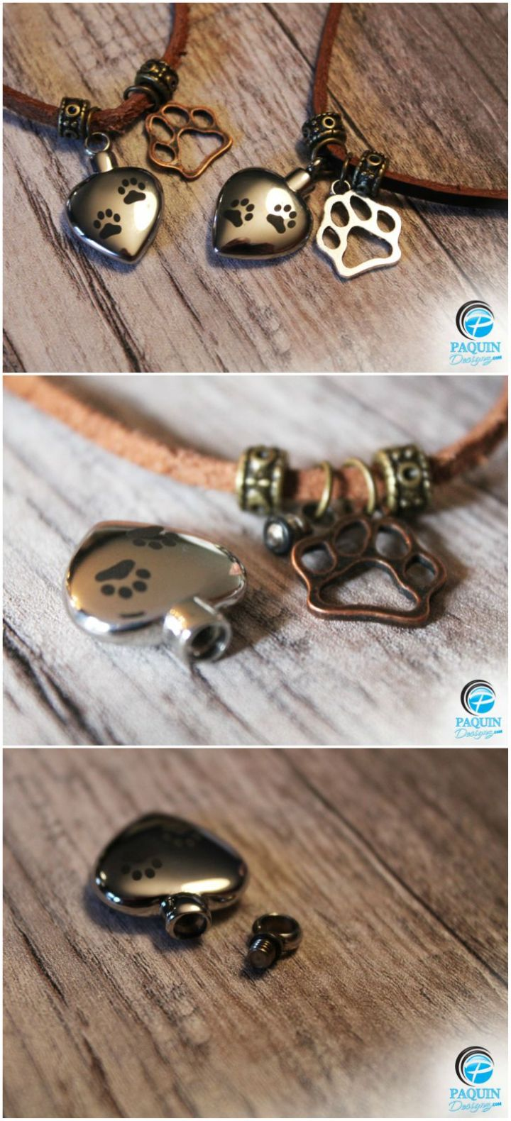 9 Pet Memorial Gifts - Pet cremation jewelry such as cremation necklaces hold your pet's ashes in a beautiful pendant.