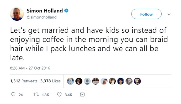 47 Best Marriage Tweets - Married life with children summed up in one tweet.