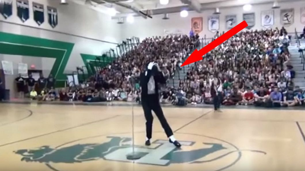 Shy Teen Steals The High School Talent Show with Fantastic Dance Performance.