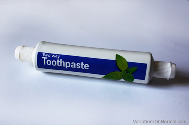 15 New Inventions - Two-way toothpaste