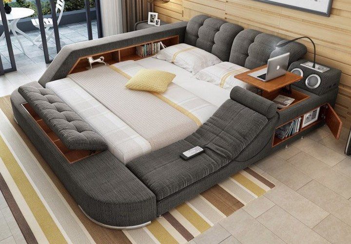 15 New Inventions - Multifunctional bed.