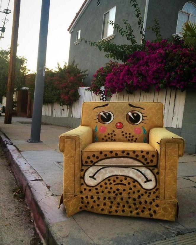 Sad chair.