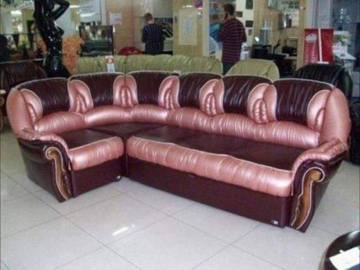 Bonus living room design tip: Don't choose furniture that looks like this.