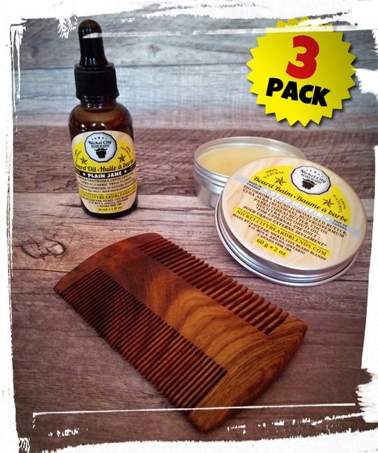 21 Best Father's Day Gifts - Nickel City Beard Blends beard oil, beard balms, and beard combs.