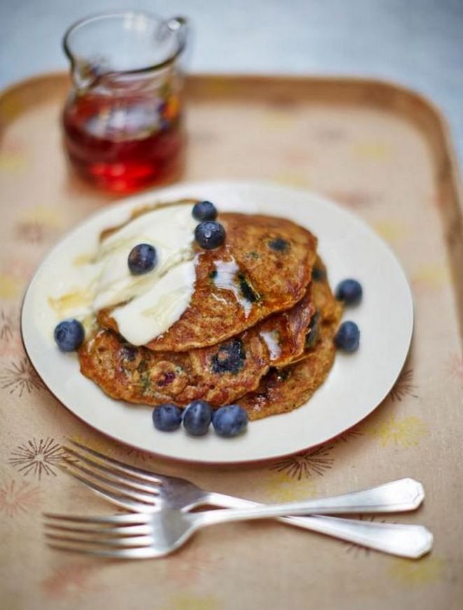 10 Best Pancake Recipes - Vegan blueberry pancakes