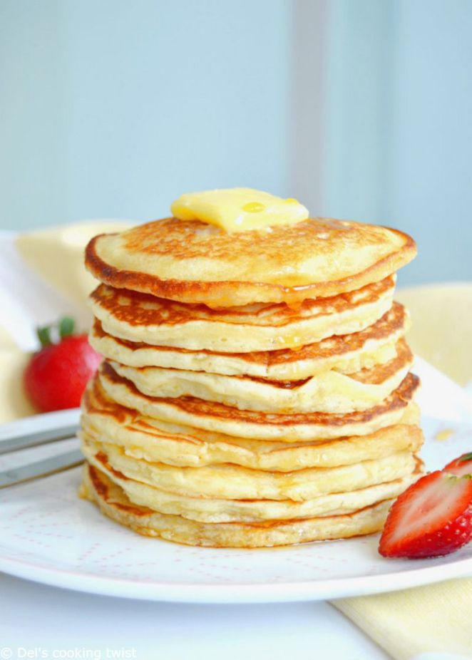 10 Best Pancake Recipes - Easy Fluffy American Pancakes.