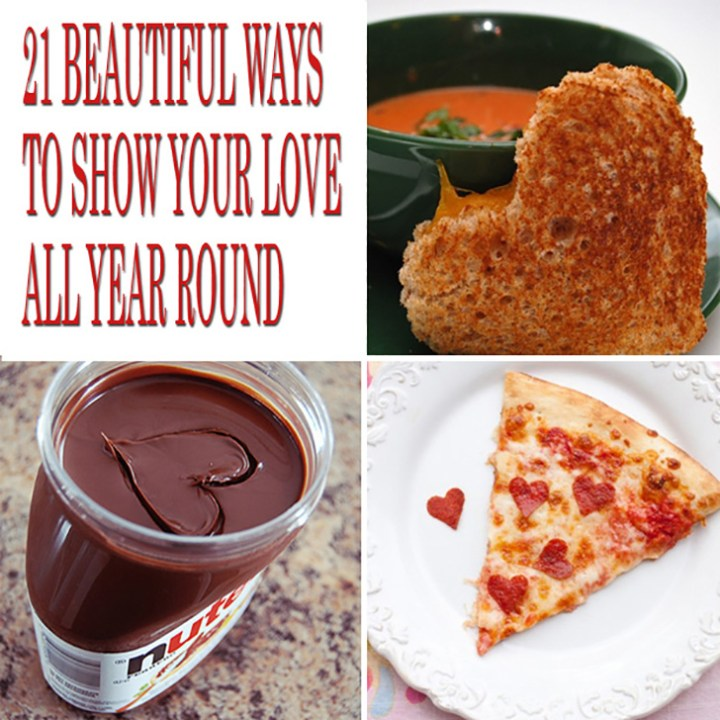"""21 Cute Ways to Say """"I Love You"""" and Show Your Love All Year Round."""