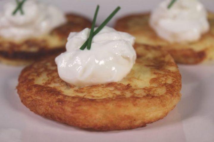 15 Luscious Pancake Recipes - Mashed Potato Pancakes.