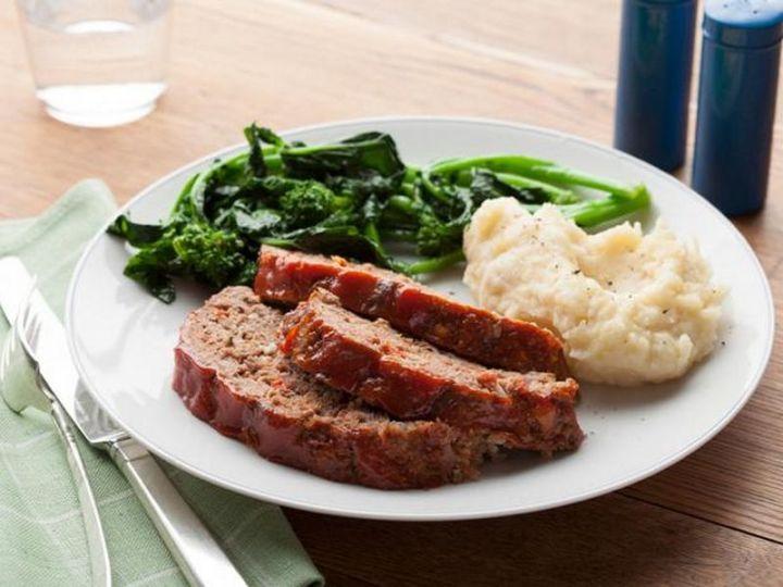 15 Meatloaf Recipes - Old-Fashioned Meat Loaf- A.K.A 'Basic' Meat Loaf.