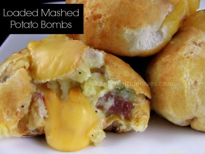 29 Best Potato Recipes - Loaded Mashed Potato Bombs.