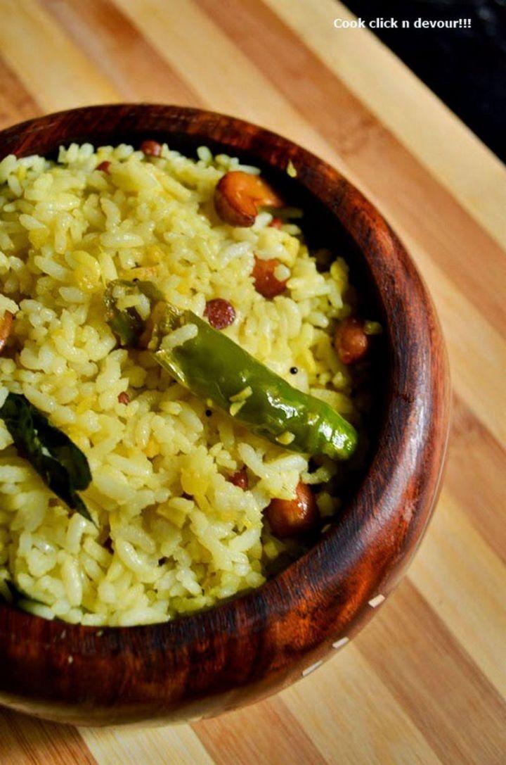 49 Indian Side Dishes - Nellikai Sadam.