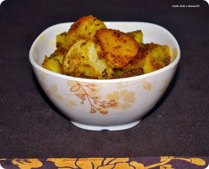 49 Indian Side Dishes - Aloo Jeera.