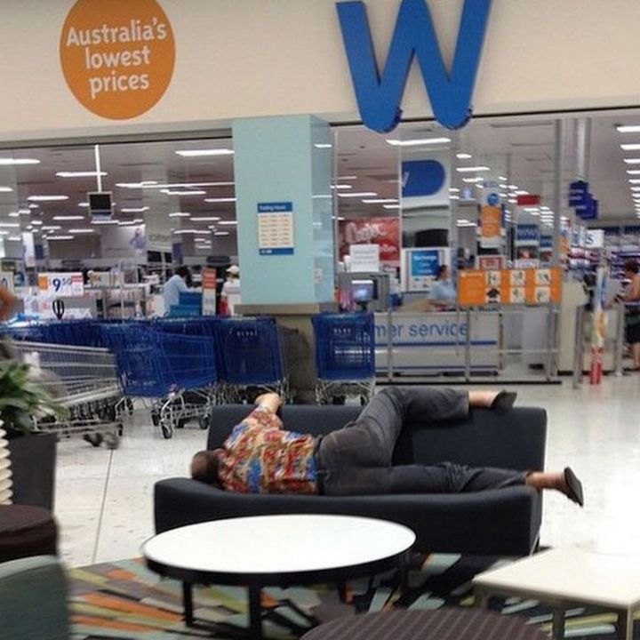 Miserable Men - Getting comfortable.