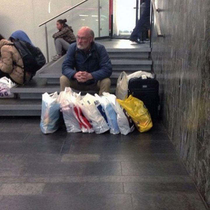 Miserable Men - So many bags...