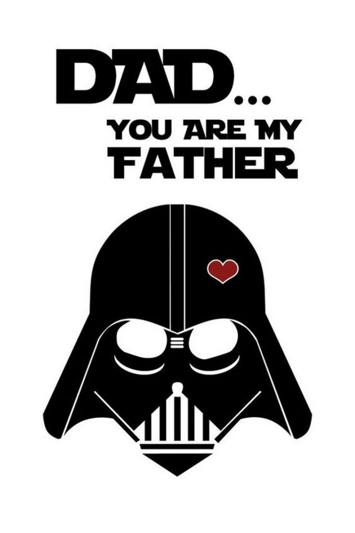 """71 Funny Dad Memes - """"Dad...You are my father."""""""