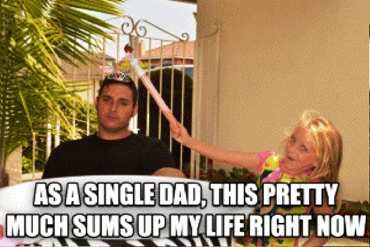 """71 Funny Dad Memes - """"As a single dad, this pretty much sums up my life right now."""""""