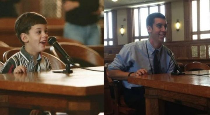 """35 Then and now pictures - """"I came to this courtroom with my class in Kindergarten. Today, 14 years later, I finished my internship with the Judge in the same courtroom."""""""