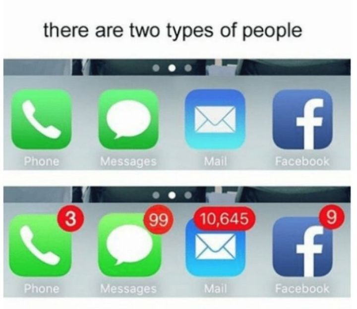 Two Types of People - Two types of smartphone owners.